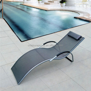 Uplion MC3039 outdoor pool stacking sun lounger