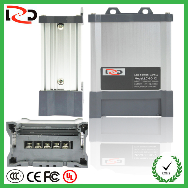 CE ROHS Quad output switching power supply with 2 year warranty
