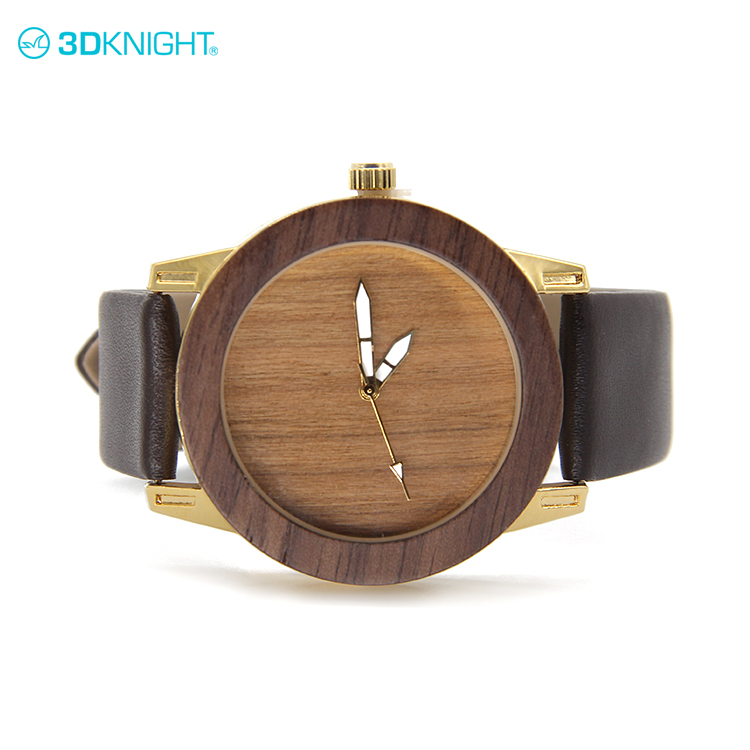 Ladies elegant wood watch natural high quality classic wood colours watches skeleton mechanical