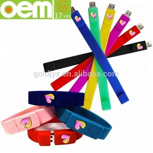 custom made top grade special usb flash drive,silicone usb bracelet, fashion silicone bracelet usb flash drive