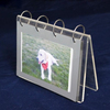 Clear Perspex Photo Album Plexiglass Photo Display Rack Holder Table Top Free Standing Acrylic Calender