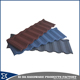 High quality standard size stone coated roofing sheet galvanized steel sheet