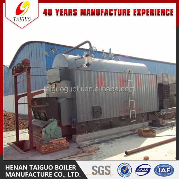 wood pellet hot water boiler for home heating bathing