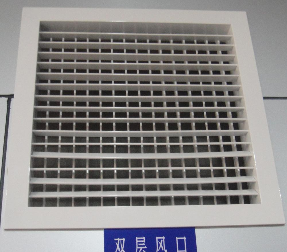 Double Deflection Grille With Damper : Supply air double deflection register grille with