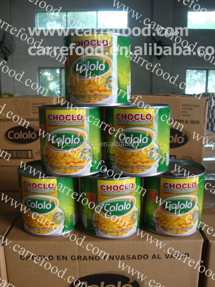 MaizDulce sweetcorn for 425g with canned food vegetables