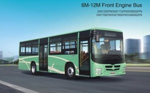 shacman 12m bus