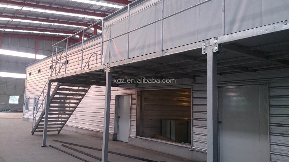 Sample Prefabricated Poultry Chicken Farm