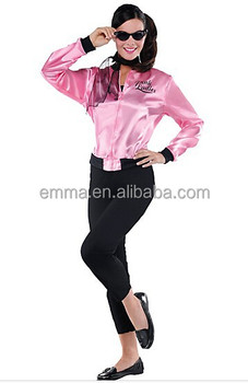 The Pink Satin Ladies Lady Grease 50s 60s Women Costume BWG-7141  sc 1 st  Alibaba & The Pink Satin Ladies Lady Grease 50s 60s Women Costume Bwg-7141 ...