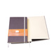 A5 High Quality Custom Hardcover Fabric Notebook In Korean Stationery