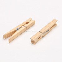 7.2cm pine wooden clothes pegs