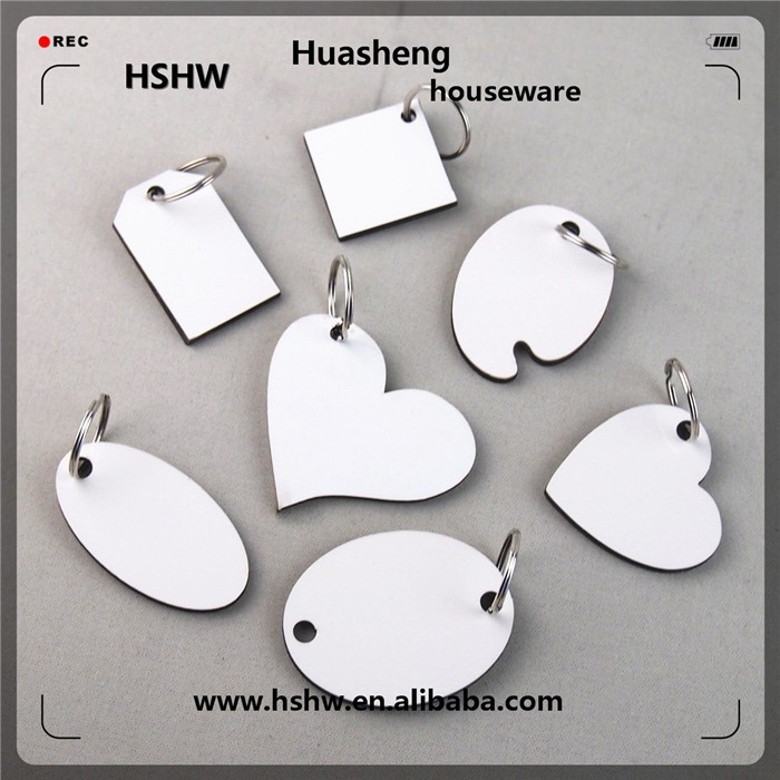 sublimation wood blanks keychain china suppliers
