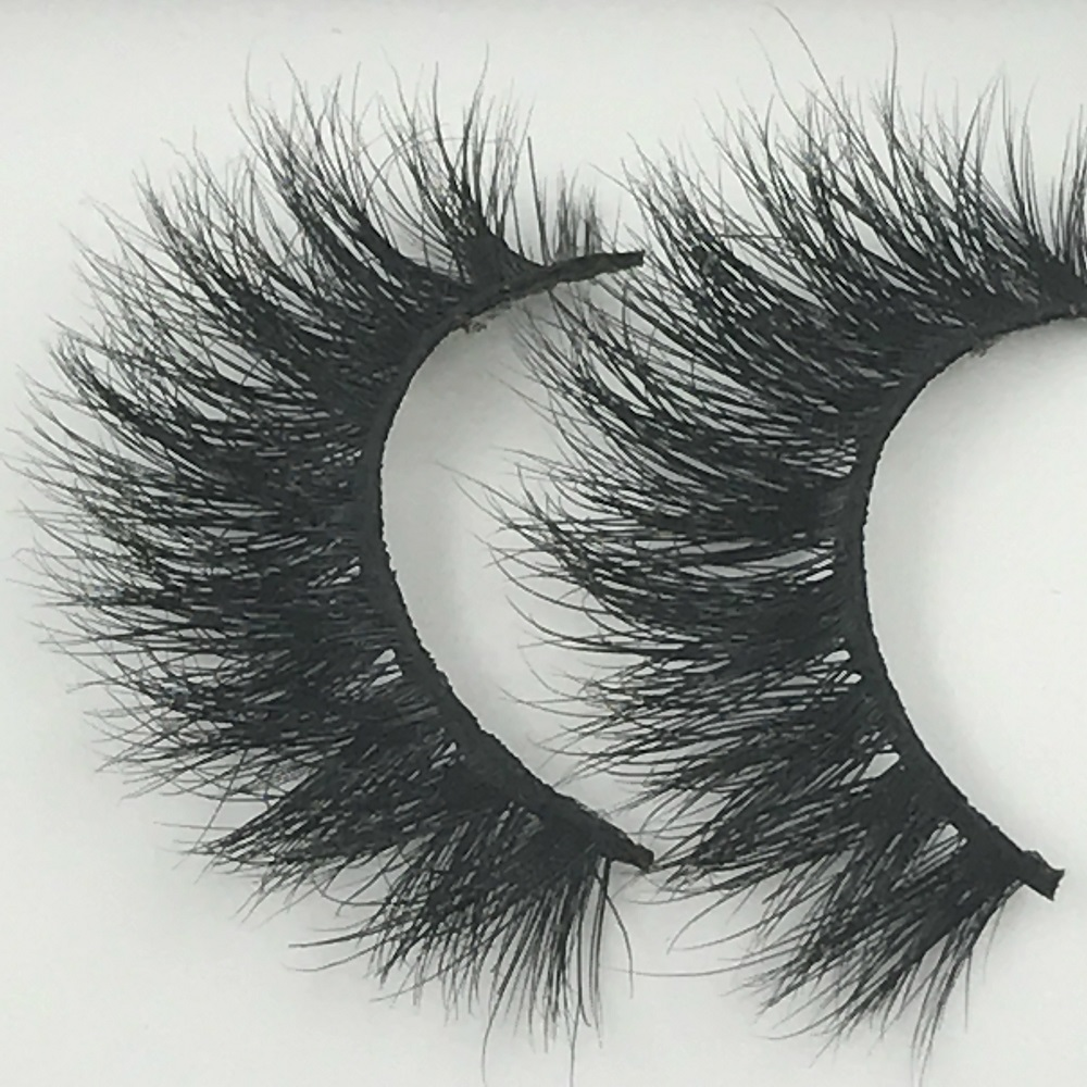 ฉลากส่วนตัว 100% real mink lashes 3d mink eyelashes false eyelash extension