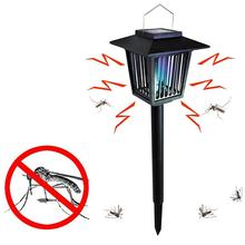 XLTD-101-1 LED Hot Koop Outdoor Solar Panel Mosquito Insect Pest <span class=keywords><strong>Killer</strong></span> Tuin Gazon Yard Light <span class=keywords><strong>Lamp</strong></span>