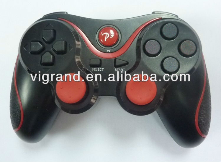 Built-in Rechargeable Battery wireless bluetooth joystick for PS3