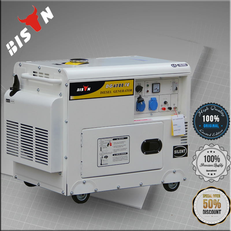 BISON(CHINA) 178F Diesel Powered Engine 3000 Watts Diesel Generator
