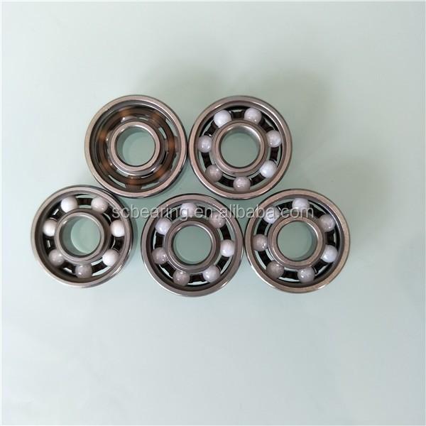 608 Full Ceramic Bearing 608 ZrO2 Ball Bearing 8X22X7mm hand spinner fidget toy