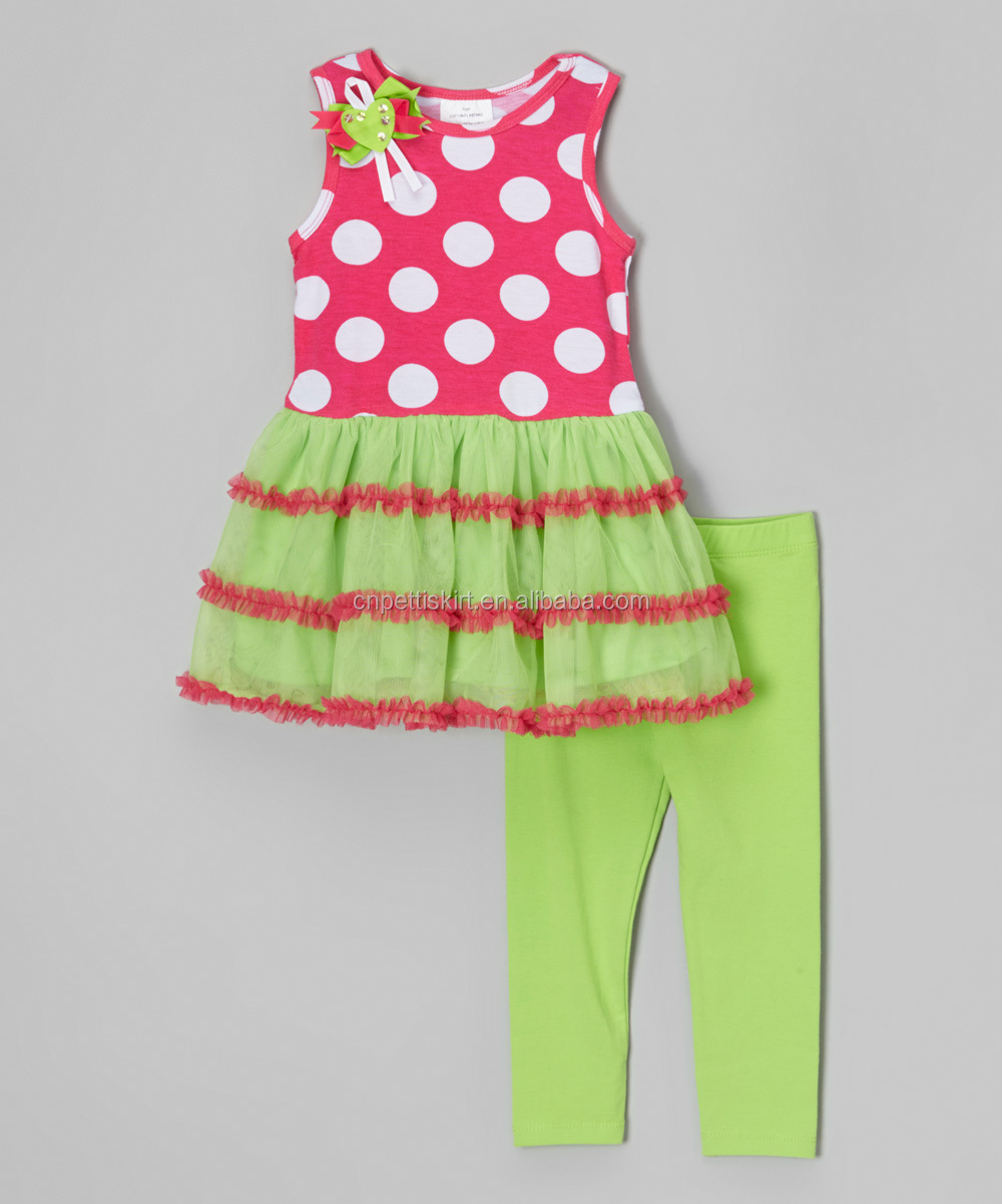 Girls Summe Boutique Outfits Wholesale Clothing