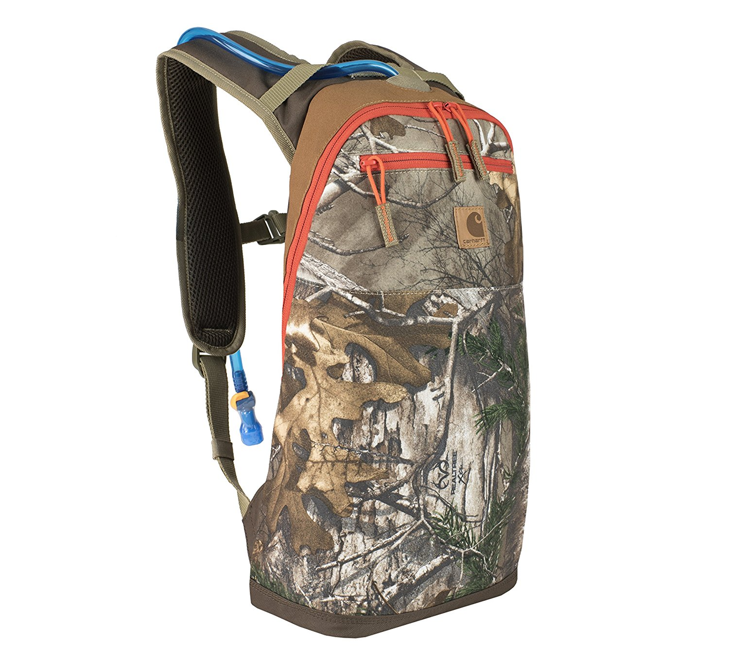 Carhartt Hunt Realtree Camo Hydration Pack with 1.5 Liter Hydration Bladder