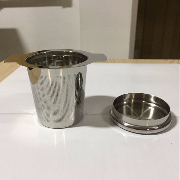 how to clean stainless steel tea filter