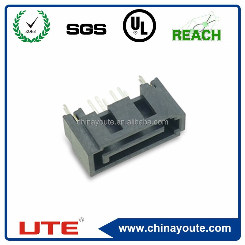 SATA 7P, male adapter, straight angle, China supplier