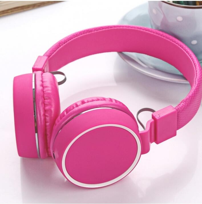 Cheap wired headphone with mic wholesale silent disco headphone