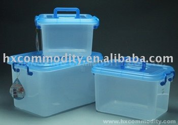 Large Plastic Handle Lockabe Storage Containers Buy Portable