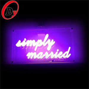 diy advertising color changing neon letters factory custom made led acrylic  used neon bar signs for sale