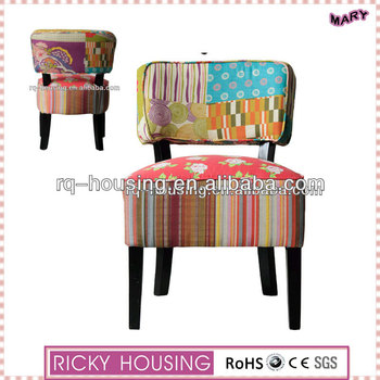 Low Back Design Dining Room Chairs Colorful Fabric Dining Chair Fancy Dining  Room Chairs RQ20911