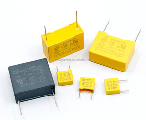 Capacitors 275v x2 MKP/MPX Metallized Polypropylene Film Capacitor 275vac 0.1uF