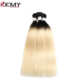 T1B/613 Human Hair Closure Piece Blonde Virgin Hair 3 Bundles Brazilian Hair Vendors