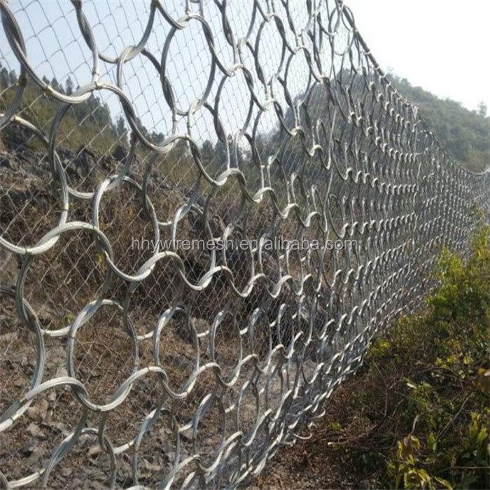 Rockfall linh hoạt lưới bảo vệ Mảnh Vỡ Dòng Chảy Rào Cản