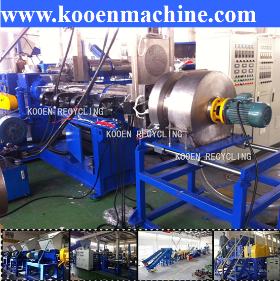 cheap plastic recycling machine with long life time