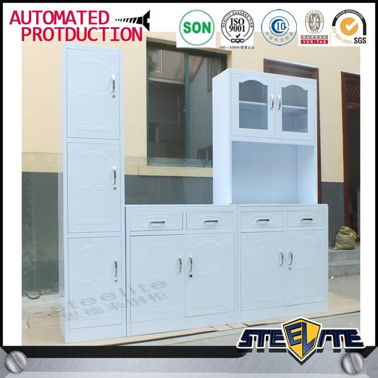 Used White Kitchen Cabinets: Home Used White Metal Kitchen Cabinets/ Kitchen Design