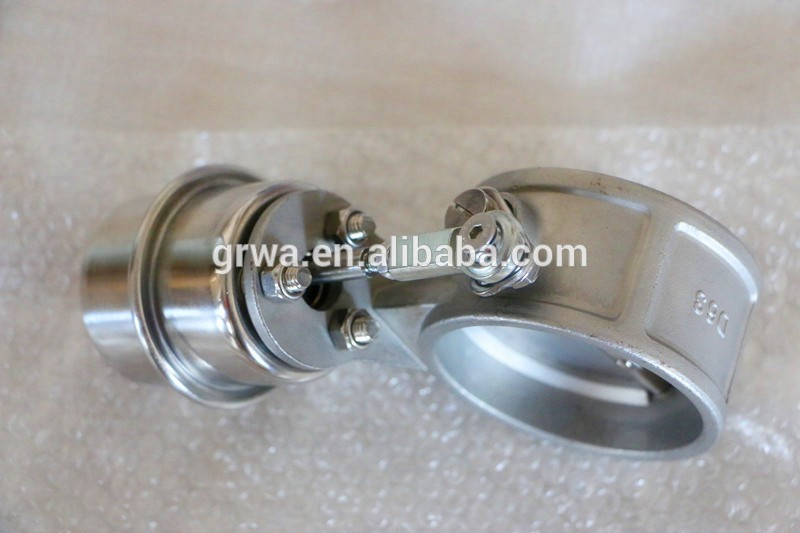 Stainless Steel Vacuum Exhaust Control Valve Cutout E-cut