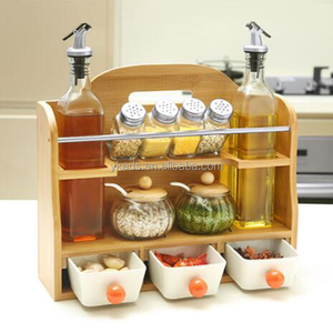 Kitchen Shelf spice organizers