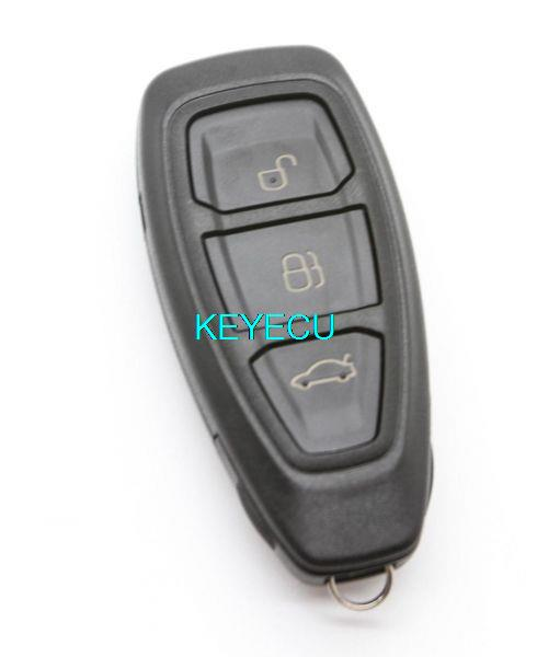 Замена дистанционный ключ оболочки чехол без ключа Fob 3 кнопка для фиеста фокус Mondeo C-Max B-Max S-Max Galaxy Kuga