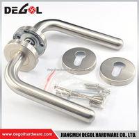 Latest stainless steel solid type industrial refrigerator door handle