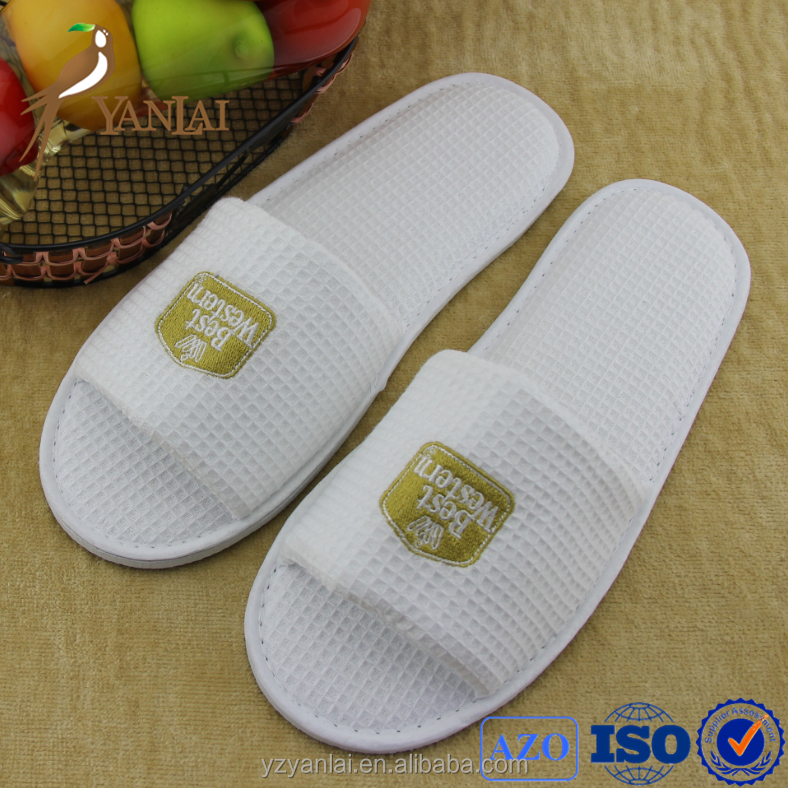 top quality and cheap kids open toe disposable hotel slippers