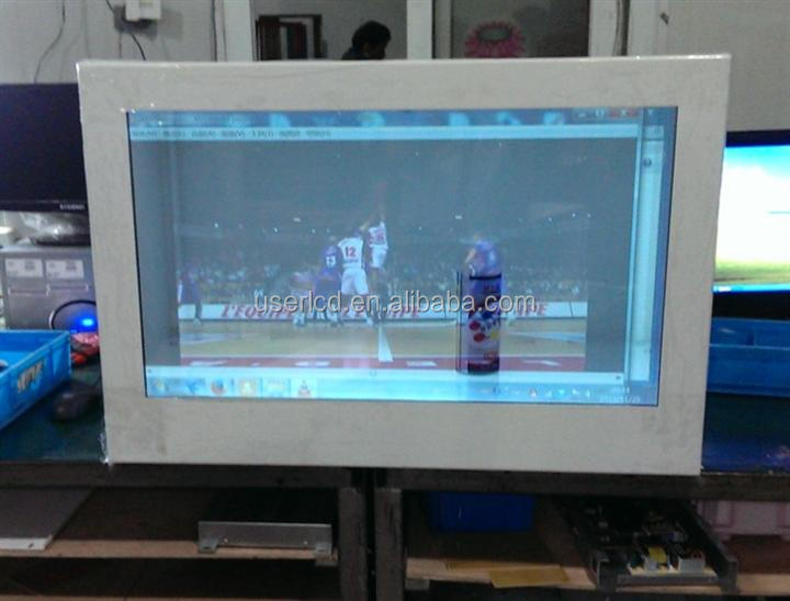 46 inch transparent lcd screen module touch panel for transparent lcd display