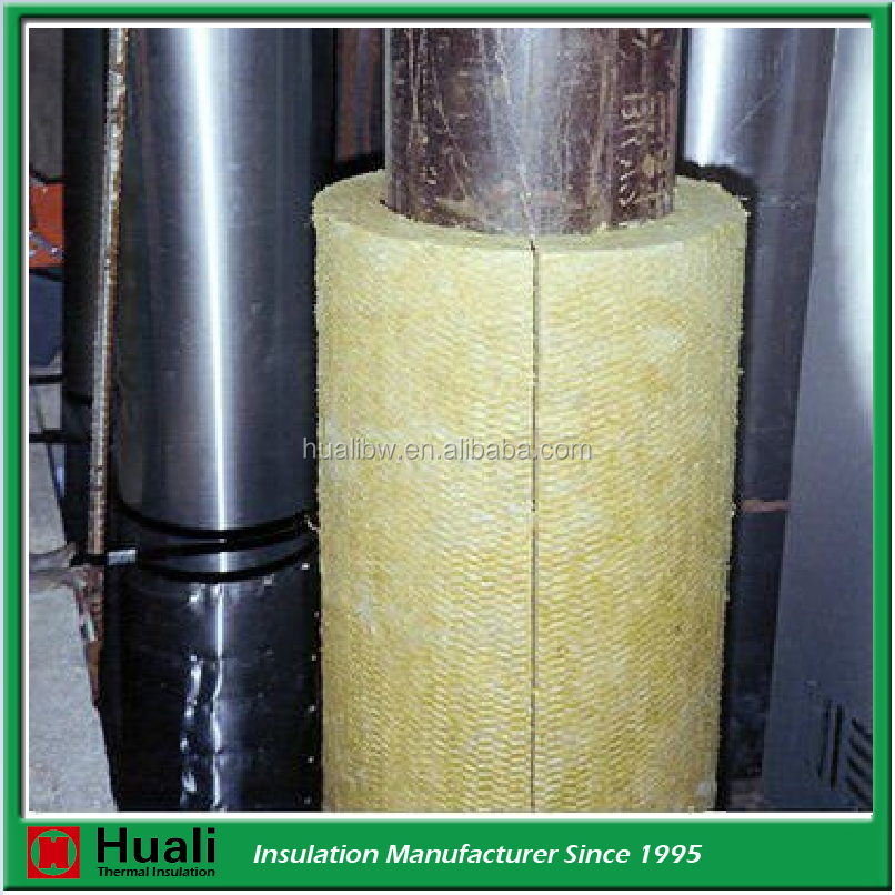 Fire Resistant Insulation Material Rockwool Tube Buy