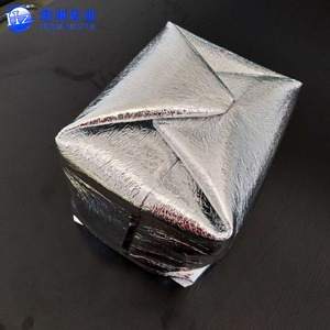 high quality food frozen transport large insulated food delivery packaging bag aluminum foil box liner