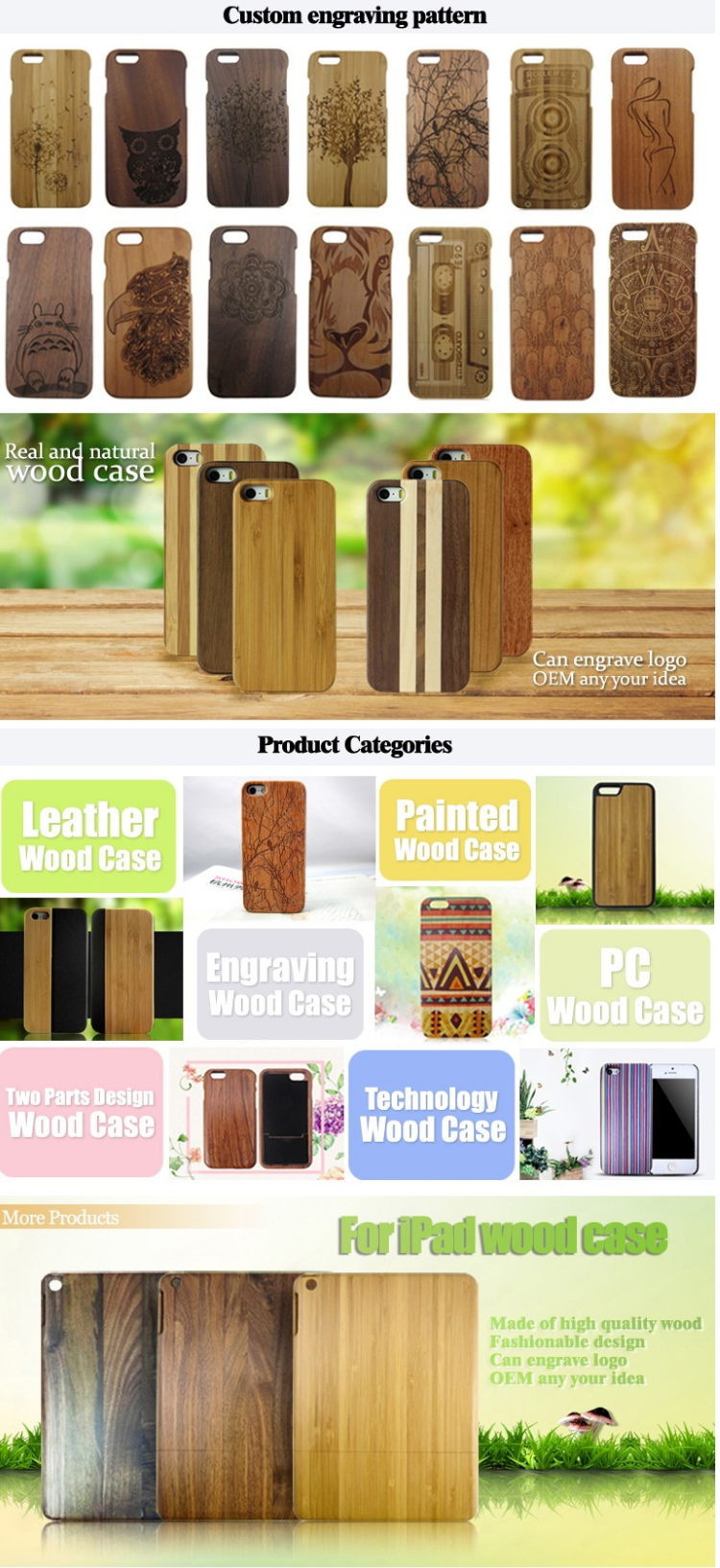 High-end design customized mobile phone cork wood phone cover cork phone casefor iphone