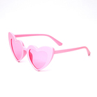 New 2018 Love Heart Sunglasses Children Glasses Kids Baby Cute Sun Glasses Red Pink Black Lens 8 Colors High Quality