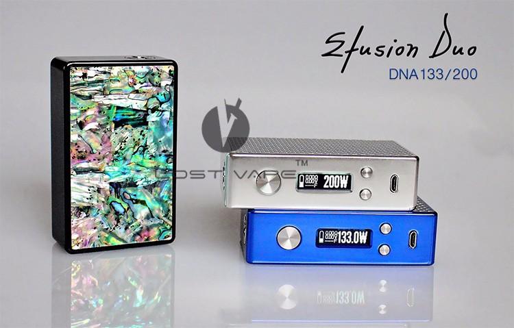 Efusion Duo 200w Box Mod With Evolv Dna200 2016 Vapor Mod As Good ...