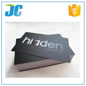 Benutzerdefinierte Druck Schwarz Matt Papier Visitenkarte Buy Schwarz Matt Papier Visitenkarte Kundenspezifische Schwarze Visitenkarte Matt