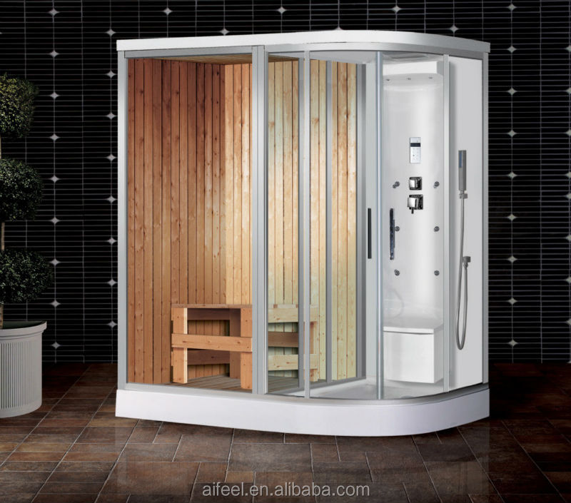 Dry Wet Steam Sauna Portable Stream Shower Room For Sale - Buy ...