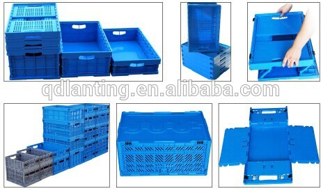 Hdpe Eco Friendly Foldable Plastic Crate Packaging Plastic