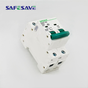 Sell well high breaking white high safety miniature circuit breaker