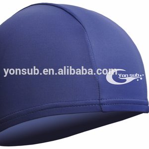 solid swimming cap polyester