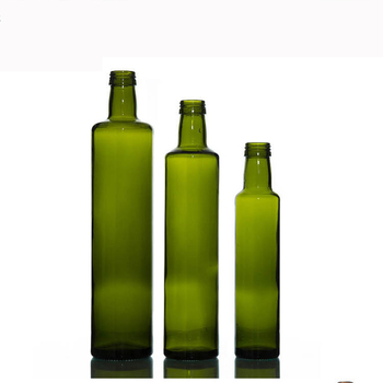 40ml 40ml 40ml 40ml Clear Drak Green Round Square Glass Olive Classy Decorative Olive Oil Bottles